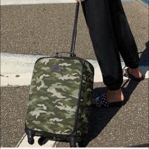 PINK Camo Wheelie Suitcase